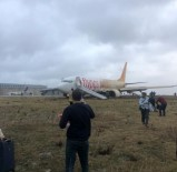 HAVAYOLU ŞİRKETİ - Pistten Çıkan Uçak Sonrası THY'den 20 Ek Sefer Planlaması