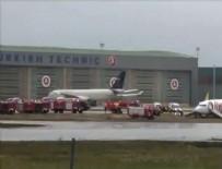 Sabiha Gökçen Havalimanı'nda uçak pistten çıktı