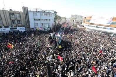 Süleymani'nin cenaze töreninde yaşanan izdihamda ölü sayısı 40'a yükseldi