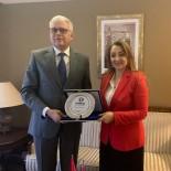 İHRACAT - ULUSKON'dan Fas Krallığı Büyükelçisine Ziyaret