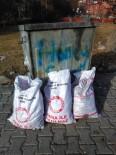 Yardım Kömürlerini Çöpe Atıldı