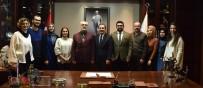 YEŞILAY - Yeşilay'dan Başkan Ataç'a Ziyaret