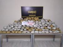 Yüksekova'da 359 Kilo Esrar Ele Geçirildi