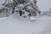 ABANT - Abant'ta Kar Kalınlığı 1 Metreyi Buldu