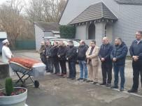 REN VESTFALYA - Almanya'da Polis Kurşunuyla Ölen Türkün Cenazesi Teslim Alındı