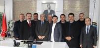 KREDİ DESTEĞİ - Bodrum Ve Mumcular'dan Bölge Birliği Başkanı Saraç'a Teşekkür Ziyareti