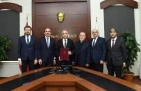 Bozkır'a Yapılacak 8 Derslikli Okulun Protokolü İmzalandı