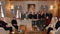 CHP Merkez İlçe Teşkilatından Başkan Şahin'e Ziyaret