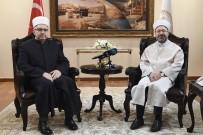 SLOVENYA - Diyanet İşleri Başkanı Erbaş, Slovenya Müslümanları Müftüsü'nü Kabul Etti