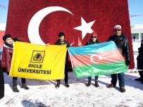 DÜ Kum Sanatı Ve Sosyal Faaliyetler Kulübü Sarıkamış Şehitlerini Anma Yürüyüşüne Katıldı