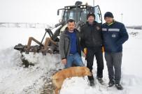 AYDOĞAN - Kar Yağışı Yüzünden 2 Gün Boyunca Mahsur Kaldılar