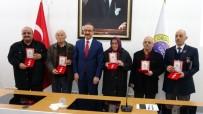 GAZİLER DERNEĞİ - Kıbrıs Gazilerine Madalya Ve Berat Takdim Edildi