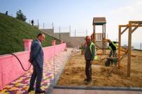 Sinop'ta Ahşap Oyun Parklarının Kurulumu Tamam