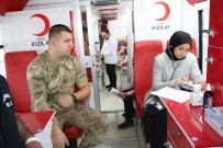 Tokat Jandarmasından Kan Bağışı