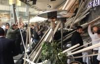 Zincirlikuyu'da AVM'nin Asma Tavanı Çöktü Açıklaması 6 Yaralı