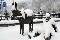 Akşehir'de Okullara 1 Gün Kar Tatili