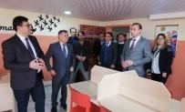 FIKRET ZAMAN - Alaçam'da Kütüphane Açılışı