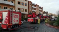 ACIL SERVIS - Beykoz'da Lüks Sitede Yangın Paniği