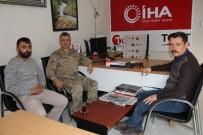 İl Jandarma Komutanı Atasoy'dan İHA'ya Ziyaret