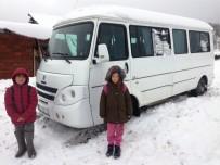 İznik'te Taşımalı Öğrenciler Kar Sebebiyle Okullarına Gidemiyor