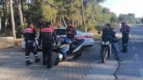 SARıLAR - Jandarma Trafik Göz Açtırmıyor