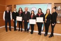 GÜMÜŞ MADALYA - Madalyalı Hayme Ana MTAL Öğrencilerinden Müdür Başyiğit'e Ziyaret