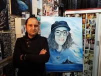 TÜRK DİLİ VE EDEBİYATI - (Özel) Ölümüyle Türkiye'yi Yasa Boğan Sibel Ünli'yi Ölümsüzleştirmek İçin Portresini Yaptı