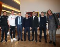 Şenol Güneş'ten Beşiktaş'a Ziyaret