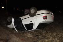ALPARSLAN TÜRKEŞ - Takla Atan Otomobil Ters Devrildi Açıklaması 2 Yaralı