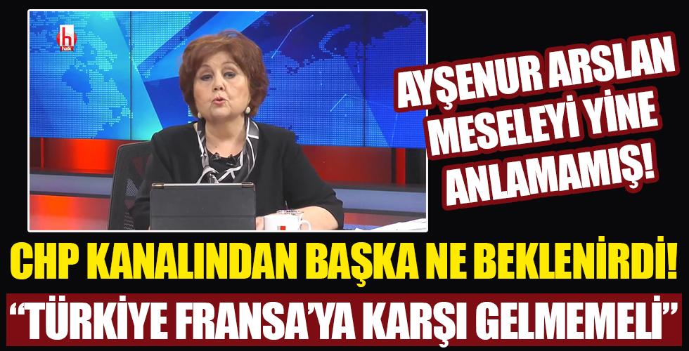 Ayşenur Arslan: Türkiye Fransa'ya ses çıkarmamalı