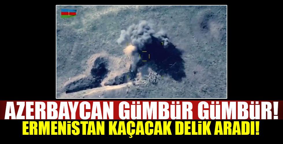 Azerbaycan Ermeni mevzilerini yok etti!