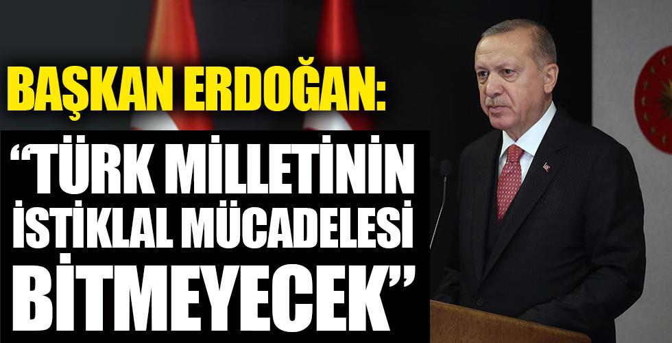 Başkan Erdoğan açıklamlarda bulunuyor!