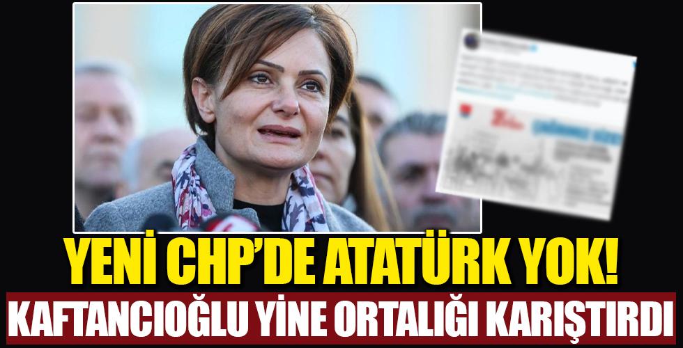 CHP İstanbul İl Başkanı Canan Kaftancıoğlu 29 Ekim'de 'Atatürk' diyemedi!