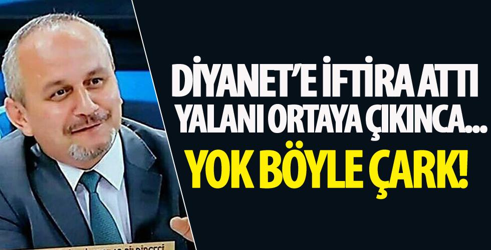 İlahiyatçı Yazar Cemil Kılıç Diyanet'e iftira attı!