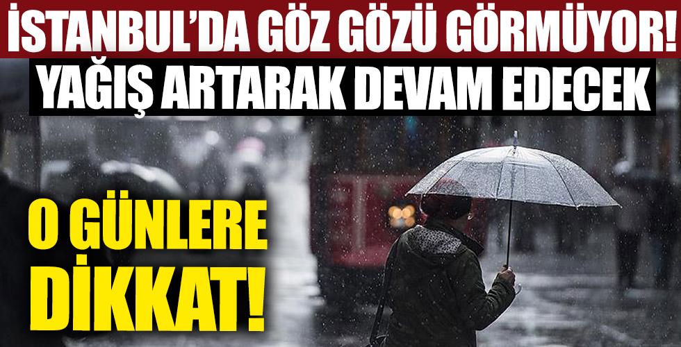 İstanbul'da göz gözü görmüyor!