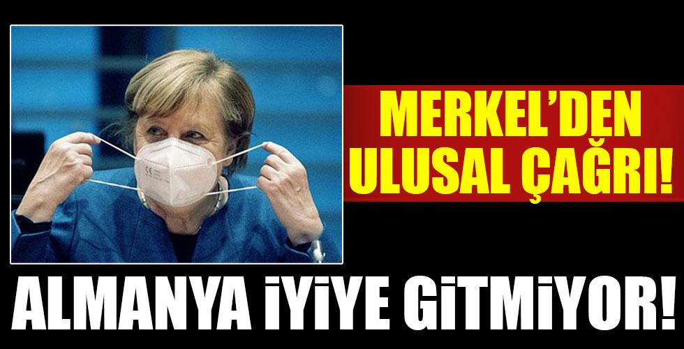 Merkel'den ulusal çağrı!