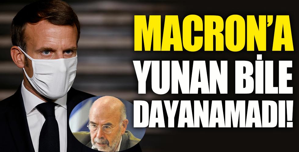 Yunan bile Macron'a dayanamadı!