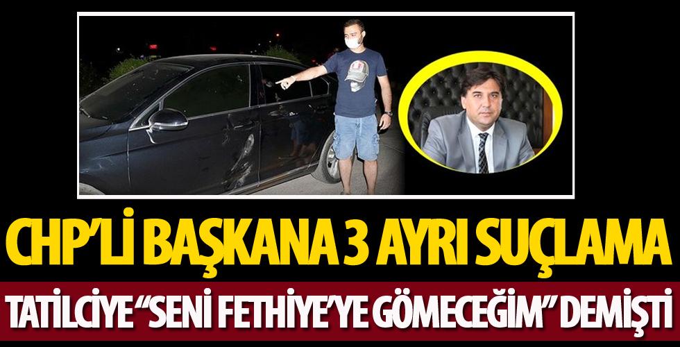 CHP'li başkana 3 ayrı suçlama!