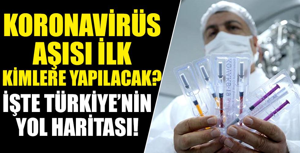 Türkiye'nin koronavirüs aşısında yol haritası belli oldu! İlk hedef 2.5 milyon kişi! Peki kimlere önce yapılacak?
