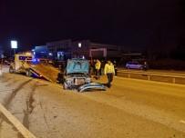 ASKER UĞURLAMASI - Asker Uğurlamasına Çıkmışlardı Kaza Yaptılar Açıklaması 1 Ölü, 3 Yaralı
