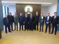 GRUP BAŞKANVEKİLİ - Ezine OSB'den Çanakkale OSB'ye Ziyaret