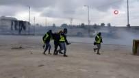 BOĞULMA TEHLİKESİ - İsrail'in Gaz Bombalı Müdahalesinde 2 Gazeteci Boğulma Tehlikesi Geçirdi