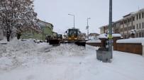 HÜSEYIN DOĞAN - Karlıova'da Karla Mücadele