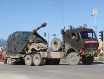 REYHANLI - Sınır birliklerine obüs ve zırhlı araç sevkiyatı