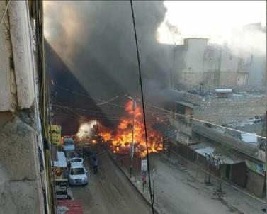 Afrin'de patlama: 8 sivil hayatını kaybetti