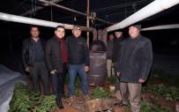 Başkan Tütüncü Çiftçilerle 'Zirai Don' Nöbetinde