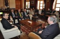 TÜRKER ÖKSÜZ - Büyükelçiler Kars'ta Çeşitli Ziyaretlerde Bulundular