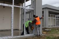 Gazipaşa Kültür Merkezi İnşaatında Sona Doğru