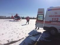 TURGUT ÖZAL - Okulda Rahatsızlanan Öğrenci Hava Ambulansı İle Sevk Edildi