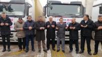 YAŞAM MÜCADELESİ - Ahlat'tan Suriye Sınırına 3 Tır Briket Yardımı